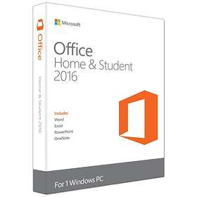 Microsoft Office Home & Student 2016 Eng (PKC)