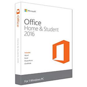 Microsoft Office Famille et Étudiant 2016 Fra (PKC)