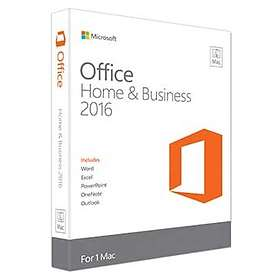 Microsoft Office Home & Business 2016 for Mac Eng (PKC)