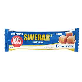 Dalblads Nutrition Less Sugar Swebar Bar 50g
