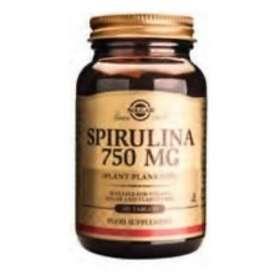 Solgar Spirulina 750mg 100 Tablets