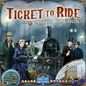 Days of Wonder Ticket to Ride: United Kingdom & Pennsylvania (exp.)