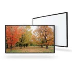 """Grandview Fixed Frame Edge Matt White 16:10 84"""" (181x113)"""