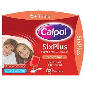 Calpol Sugar Free Infant Suspension Pulver 12pcs
