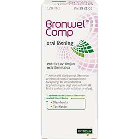Omega Pharma Phytosun Bronwel Comp Flytande 120ml