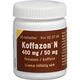 Meda Koffazon N 400mg/ 50mg 50 Tabletter