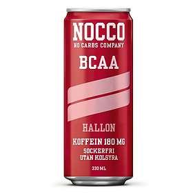 NOCCO BCAA Utan Kolsyra 330ml 24-pack