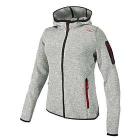 CMP Fleece Jacket Fix Hood 3H19826 (Women's)