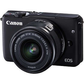 Canon EOS M10 + 15-45/3,5-6,3 IS STM