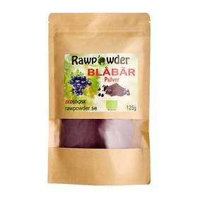 Rawpowder Blåbärpulver Eko 125g