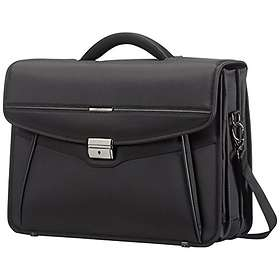 "Samsonite Desklite Briefcase 3 Gussets 15.6"""