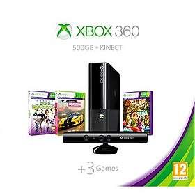 Microsoft Xbox 360 E 500Go (+ Kinect + Sports + Kinect Adv. + Forza Horizon)