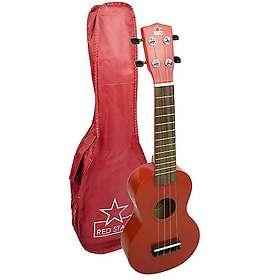 Tiger Music Red Star Soprano Ukulele