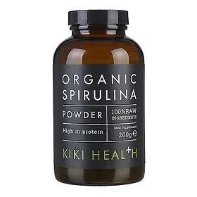 Kiki Health Organic Spirulina Raw Powder 200g