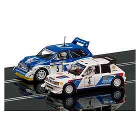 Scalextric Peugeot 205 T16 E2 & MG Metro 6R4 2-Pack (C3590A)