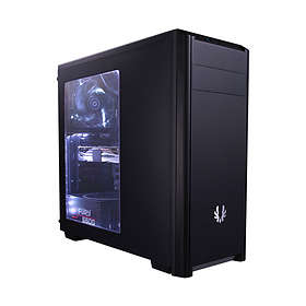 BitFenix Nova (Musta/Läpinäkyvä)