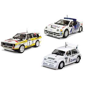 Scalextric Stig Blomqvist Group B Rally Legend 3-Pack (C3372A)
