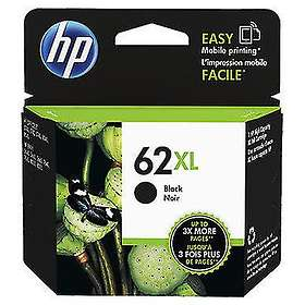 HP 62XL (Black) 2-pack