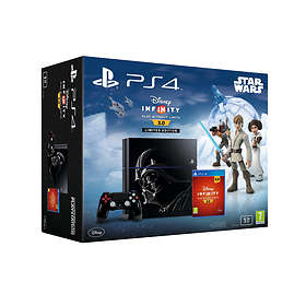 Sony PlayStation 4 1TB (inkl. Disney Infinity 3.0) - Darth Vader Limited Edition