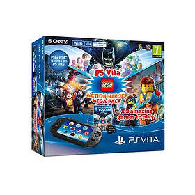 Sony PlayStation Vita Slim (+ LEGO Action Heroes Mega Pack)