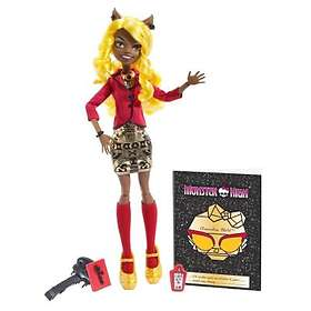 Monster High Frights Camera Action New Stars Clawdia Wolf Doll BDD88