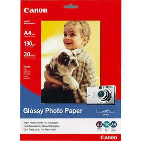 Canon GP-401 Glossy Photo Paper 190g A4 20stk