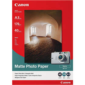 Canon MP-101 Matte Photo Paper 170g A3 40stk