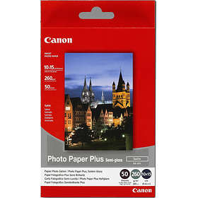 Canon SG-201 Photo Paper Plus Semi-gloss Satin 260g 10x15cm 50stk
