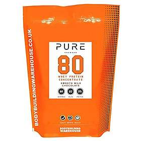 Bodybuilding Warehouse Pure Whey Protein Concentrate 80 0.5kg