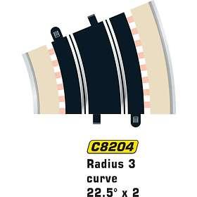 Scalextric Radius 3 Curve 22.5° (C8204)
