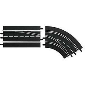 Carrera Toys Digital 132 Lane Change Curve Right Out To In (30365)