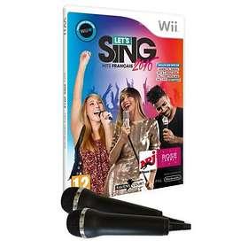 Let's Sing 2016 : Hits Français (+ 2 Microphones) (Wii)