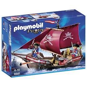 Playmobil Pirates 6681 Soldatenes Patruljebät