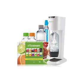 SodaStream Genesis Megapack (inkl. patron & 1x1L 2x0,5L PET-flasker)