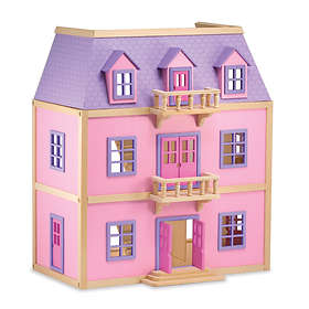 Melissa & Doug Multi-Level Solid Wood Dollhouse (4570)