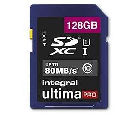 Integral UltimaPro SDXC Class 10 UHS-I 80MB/s 128GB