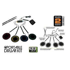 Mad Catz Rock Band Portable Drum Kit (Xbox 360)