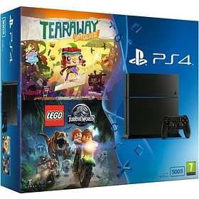 Sony PlayStation 4 500Go (+ Tearaway Unfolded + LEGO Jurassic World)