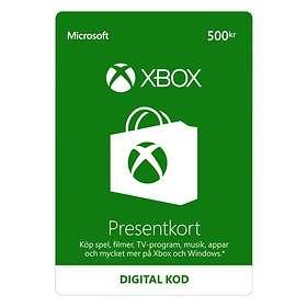 Microsoft Xbox Gift Card - 500 SEK