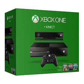 Microsoft Xbox One 500GB (incl. Kinect+Sports Rivals+Zoo Tycoon+Dance Central)