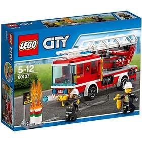 Folkekære LEGO City 60107 Fire Ladder Truck Best Price | Compare deals at OK-65