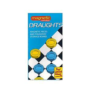 Paul Lamond Games Magnetic: Draught (pocket)