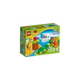 LEGO Duplo 10801 Les Bébés Animaux du Monde