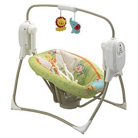 Fisher-Price Rainforest Friends Cradle N Swing
