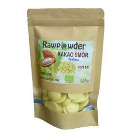 Rawpowder Kakaosmör Wafers Eko 225g