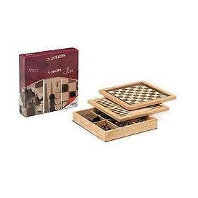 Cayro Chess, Checkers and Backgammon (pocket)