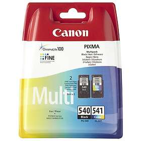 Canon PG-540XL (Black) + CL-541XL (3-Colour)