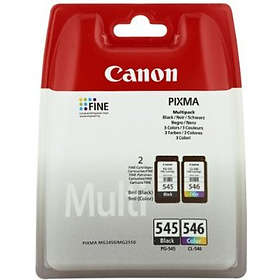 Canon PG-545XL (Black) + CL-546XL (3-Colour)
