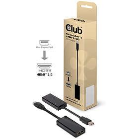 Club 3D Mini DisplayPort 1.2 - HDMI 2.0 UHD Active Adapter