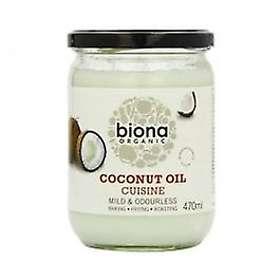 Biona Organic Mild Coconut Oil Cuisine 470g